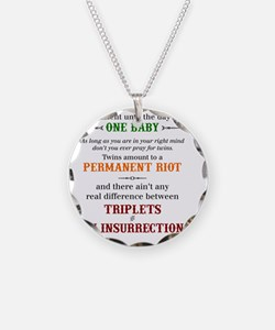 twain quote Necklace