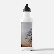 TreeSunsetRidges_2X4 Water Bottle