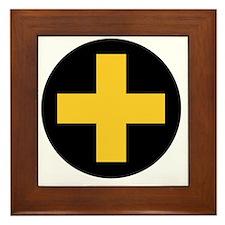 33rd Infantry Brigade Insignia Framed Tile