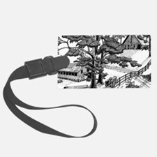 Lost in the Trees Luggage Tag