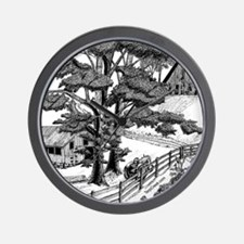 Lost in the Trees Wall Clock