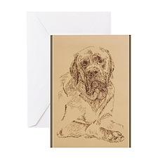 Mastiff_KlineX Greeting Card
