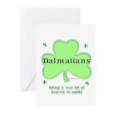 Dalmatian Heaven Greeting Cards (Pk of 10)