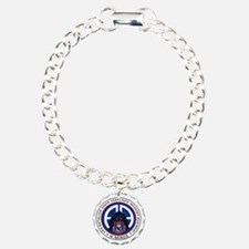 Panther v1_3rd-505th Charm Bracelet, One Charm