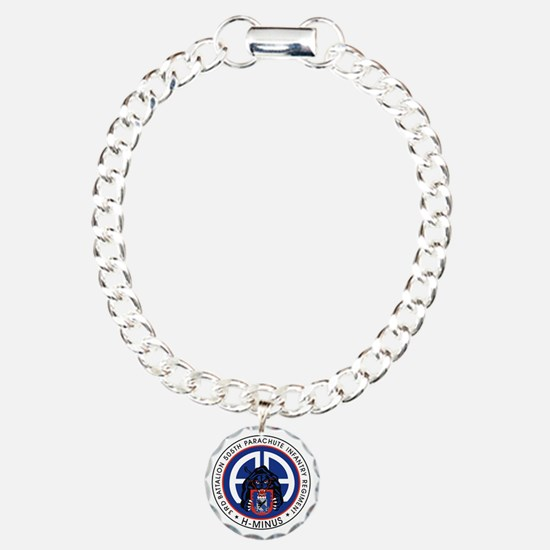 Panther v1_3rd-505th Charm Bracelet, One Charm