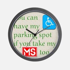 10 x 10 HandicapParking Wall Clock