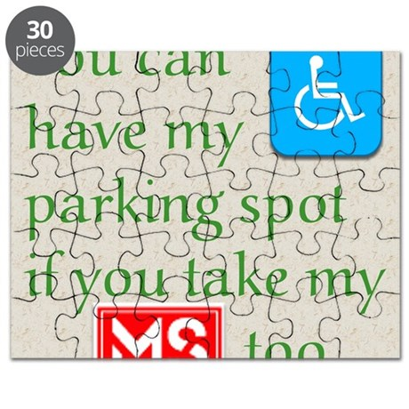 10 x 10 HandicapParking Puzzle