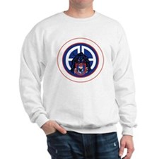 Panther v1_2nd-505th-White Sweatshirt