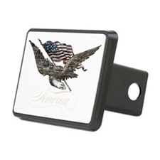 Eagle Flag-america-for dar Hitch Cover