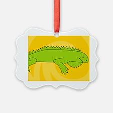 Iguana38O Ornament