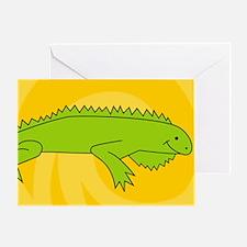 Iguana38O Greeting Card