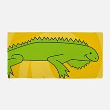 Iguana38O Beach Towel