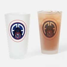 Panther v1_3rd-505th-White Drinking Glass