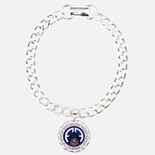Panther v1_2nd-505th Charm Bracelet, One Charm