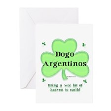 Dogo Heaven Greeting Cards (Pk of 10)