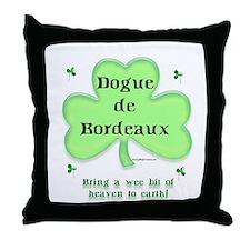 Dogue Heaven Throw Pillow