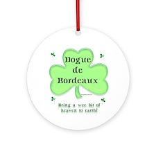 Dogue Heaven Ornament (Round)