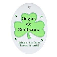 Dogue Heaven Oval Ornament