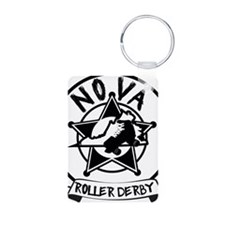 NRD - Black on White 3x3 Keychains