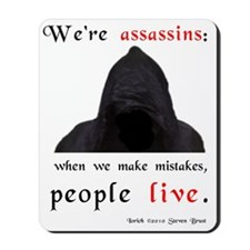 assassins-mistakes-jons-version Mousepad