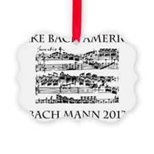 Bach Back-4 Ornament