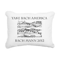 Bach Back-4 Rectangular Canvas Pillow