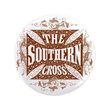 """southern cross-brick red 3.5"""" Button"""