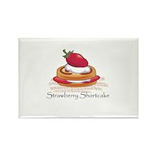 Cute Shortcake design Rectangle Magnet