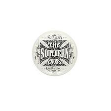 southern cross - black Mini Button