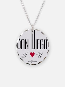SanDiego_10x10_ILoveU_BlackR Necklace