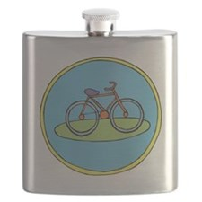 Round bicycle Flask