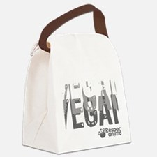 vegan-01 Canvas Lunch Bag