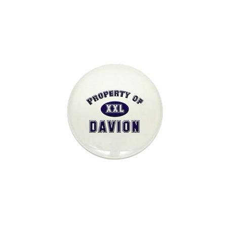 Property of davion Mini Button