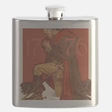 Washington Praying Flask