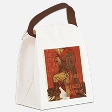 Washington There is Liberty Canvas Lunch Bag