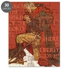 Washington There is Liberty Puzzle