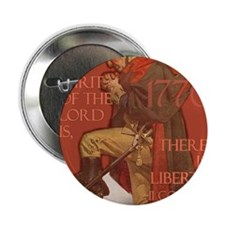 "Washington There is Liberty 2.25"" Button"