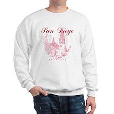 SanDiego_10x10_CaliforniaTower_Round_Re Sweatshirt