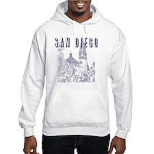 SanDiego_10x10_CaliforniaTower_B Hoodie