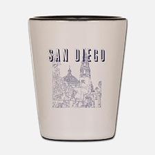 SanDiego_10x10_CaliforniaTower_Blue Shot Glass