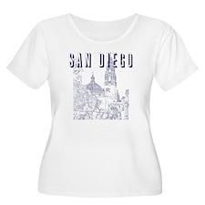 SanDiego_10x1 T-Shirt