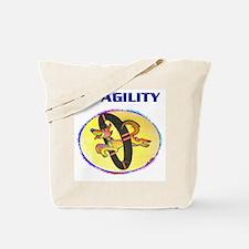 Agility Dog, Tote Bag