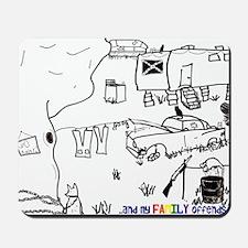 trashwithtag Mousepad