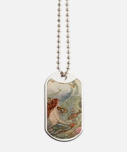 Mermaid Dog Tags