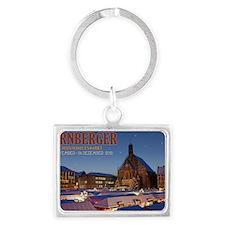 Nurnberg - Christkindlmarkt Nig Landscape Keychain