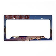 Nurnberg - Christkindlmarkt N License Plate Holder