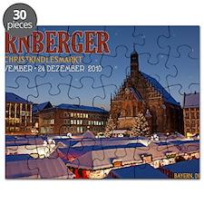 Nurnberg - Christkindlmarkt Night LS Puzzle