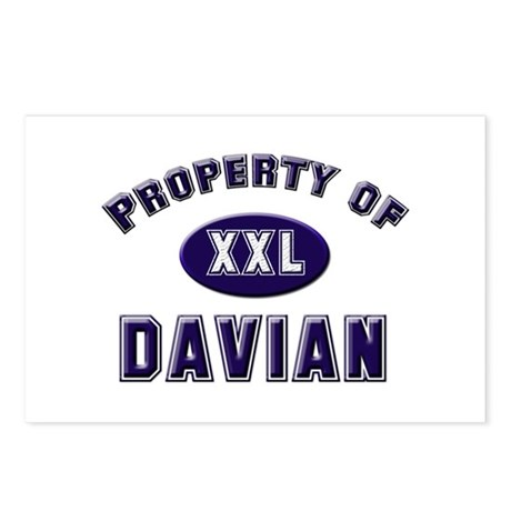 Property of davian Postcards (Package of 8)