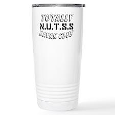 KAYAKCLUBTEXT Travel Mug