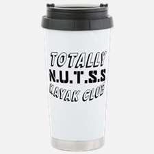 KAYAKCLUBTEXT Travel Mug